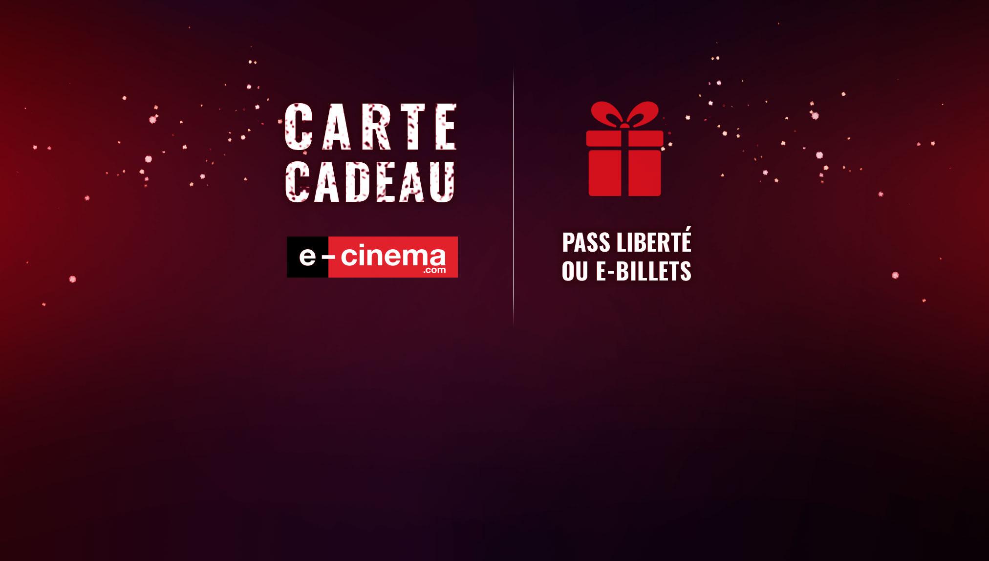 La carte cadeau e-cinema.com - Les news e-cinema.com - Le Blog e-cinema.com