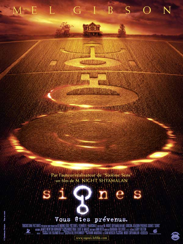 SIGNES de M. Night Shyamalan
