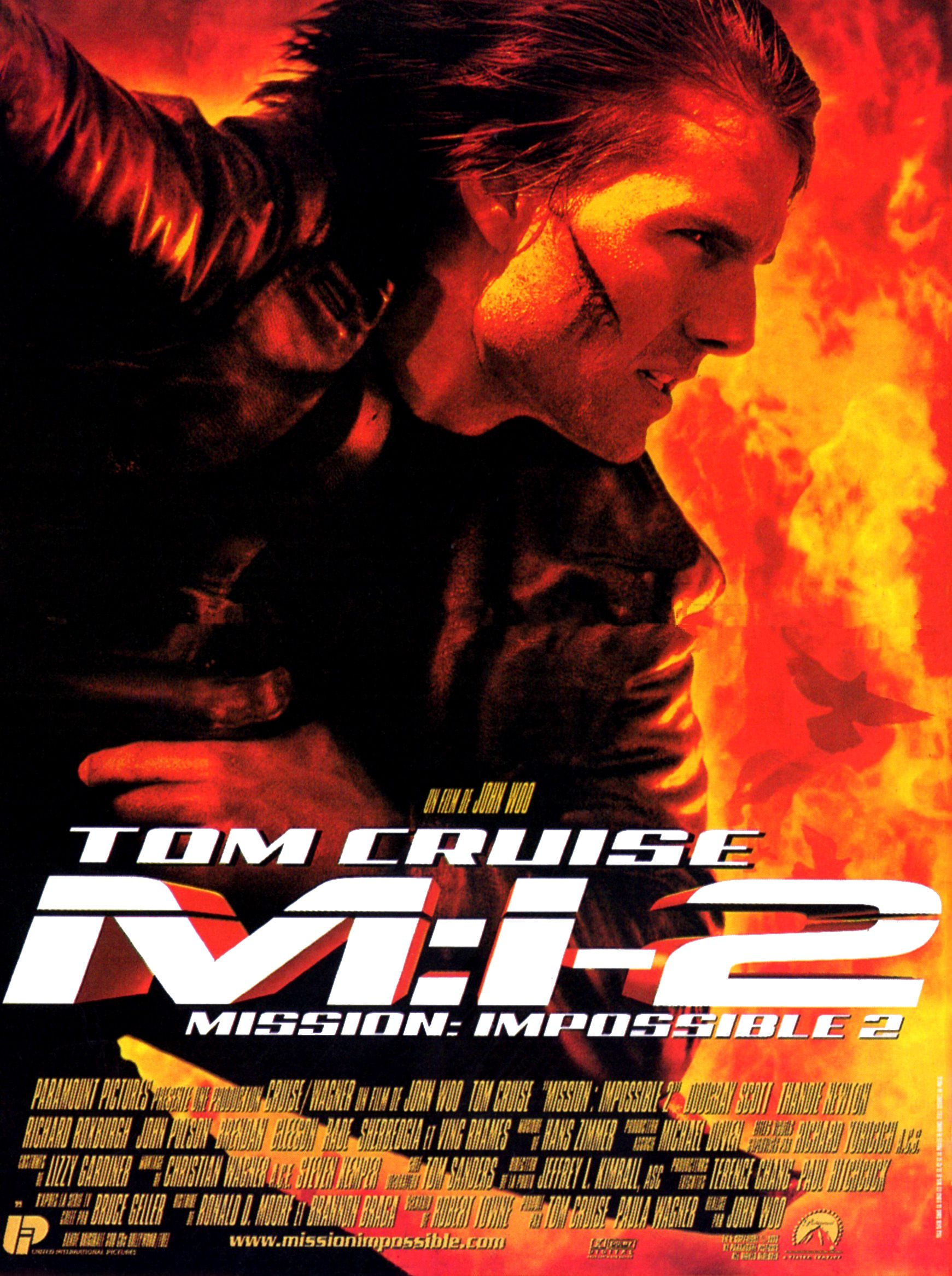 Mission : impossible 2 (2000) de John Woo
