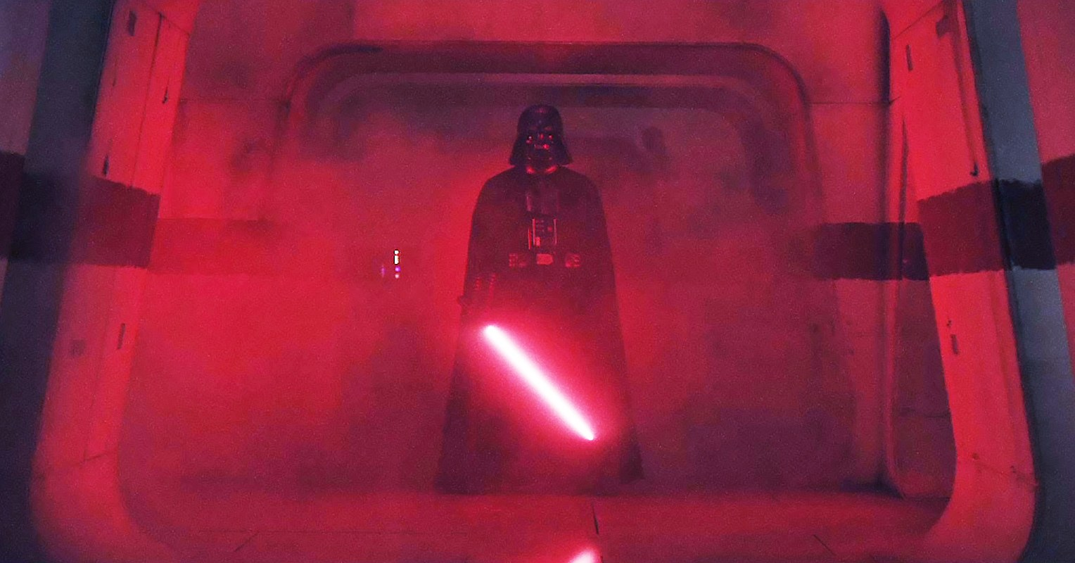 darth vader dans rogue one