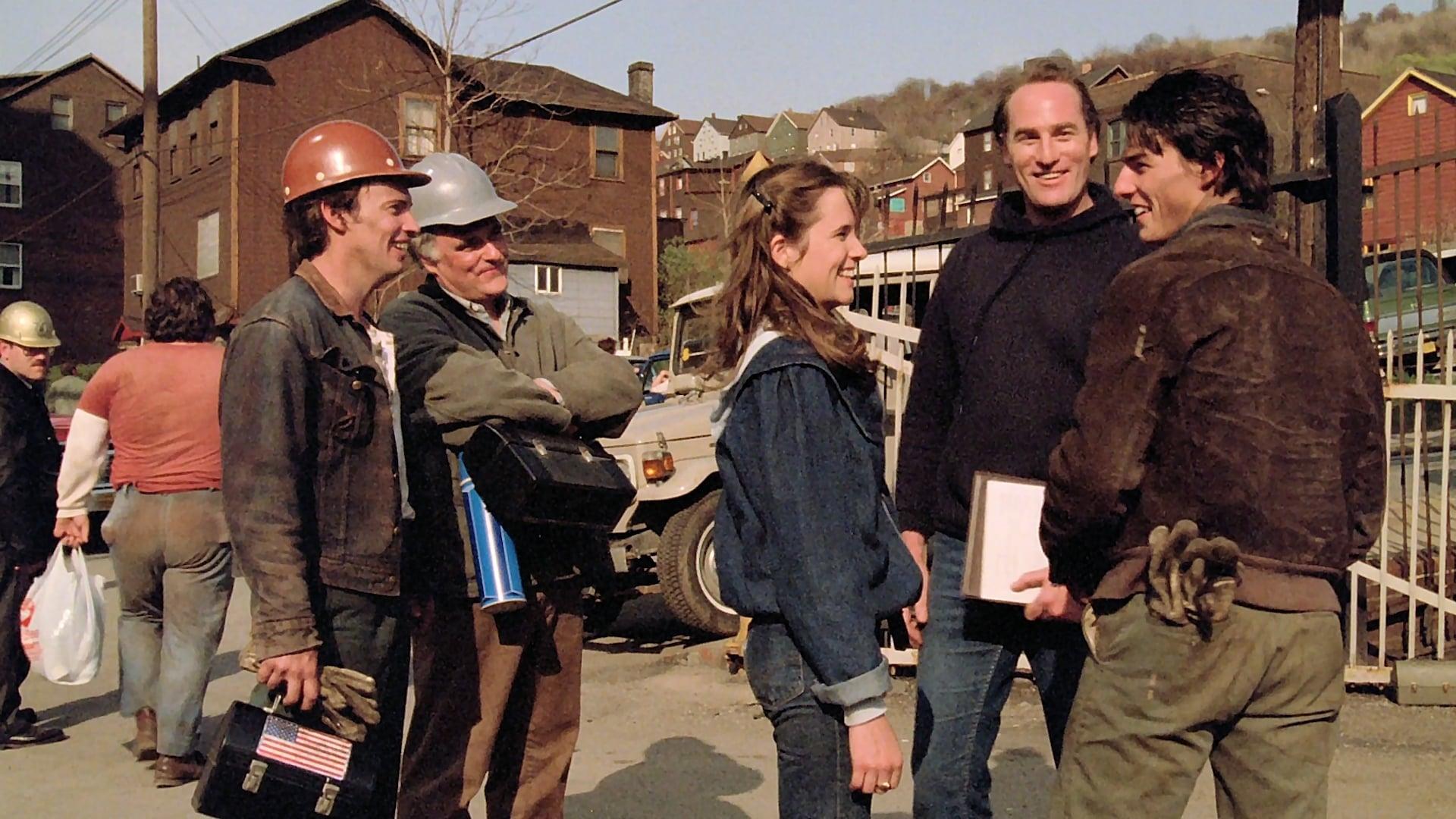 tom cruise dans L'Esprit d'équipe (1983) de Michael Chapman