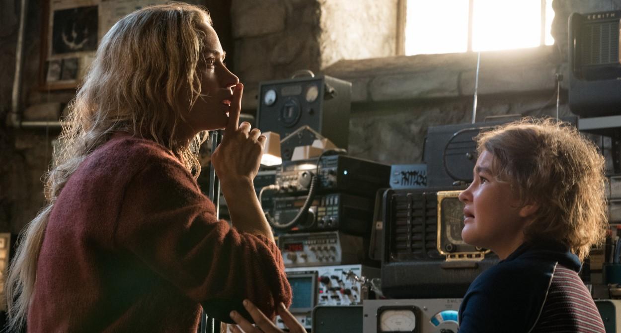 critique du film sans un bruit, le carton horrifique du box-office US