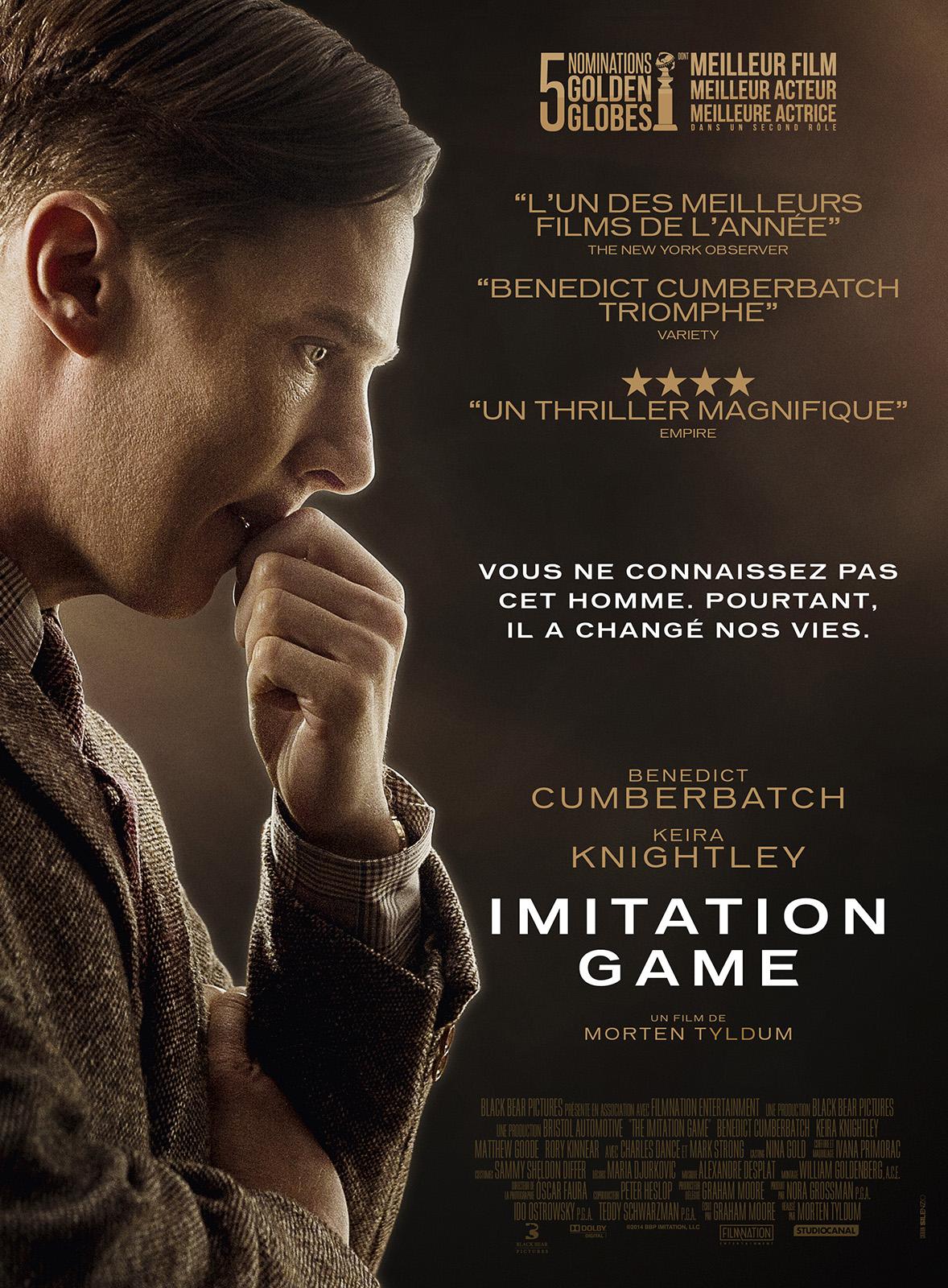 Imitation Game de Morten Tyldum