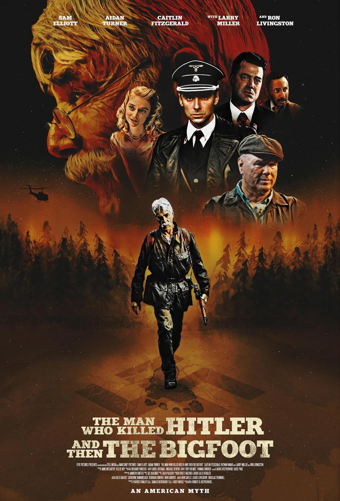 The man who killed Hitler and then the Bigfoot de Robert D. Kryzkowski