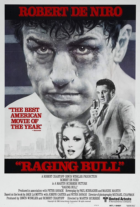 Raging bull (1980) de Martin Scorsese