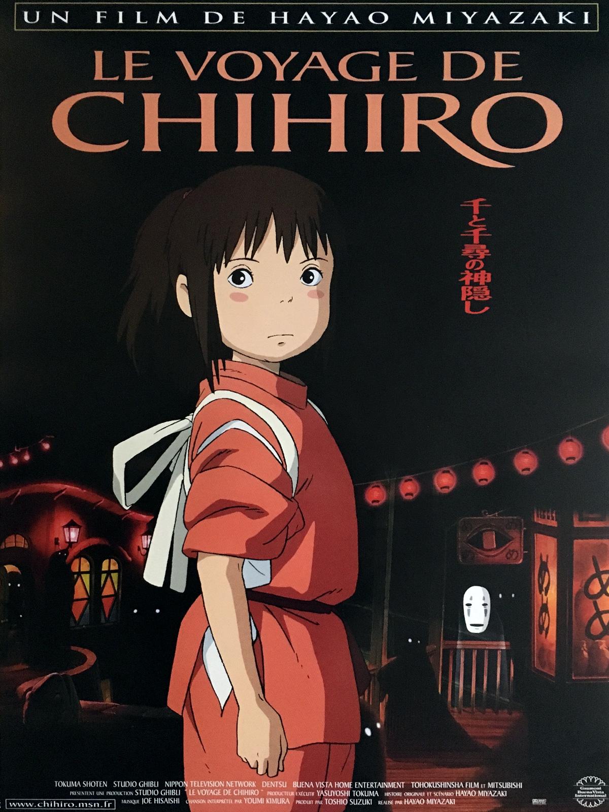 Le Voyage de Chihiro (2002) de Hayao Miyazaki