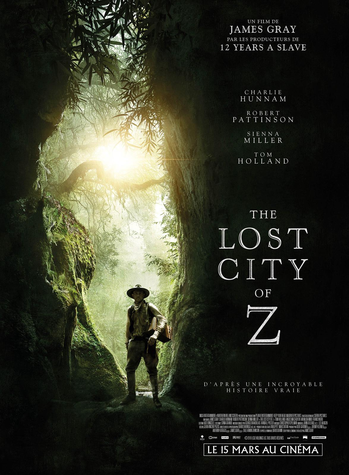 The Lost city of Z de James Gray