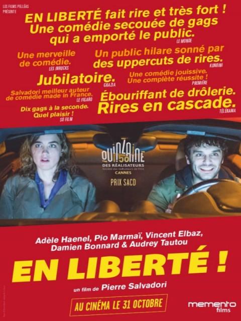 en liberté affiche du film de pierre salvadori