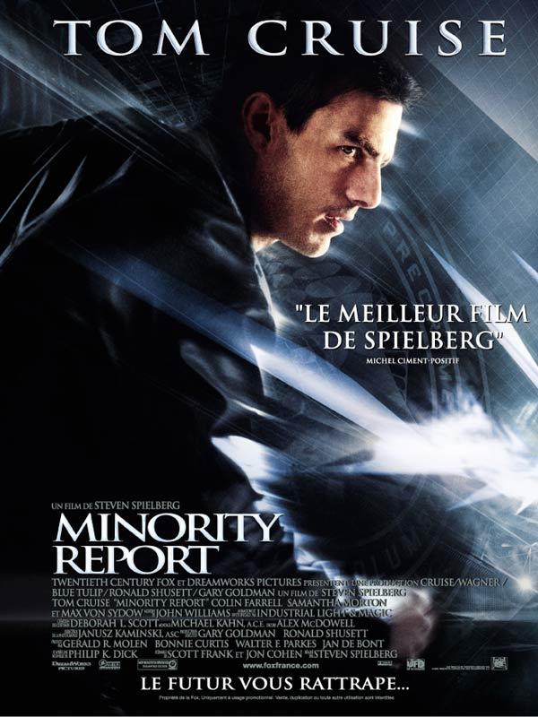 affiche Minority report (2002)