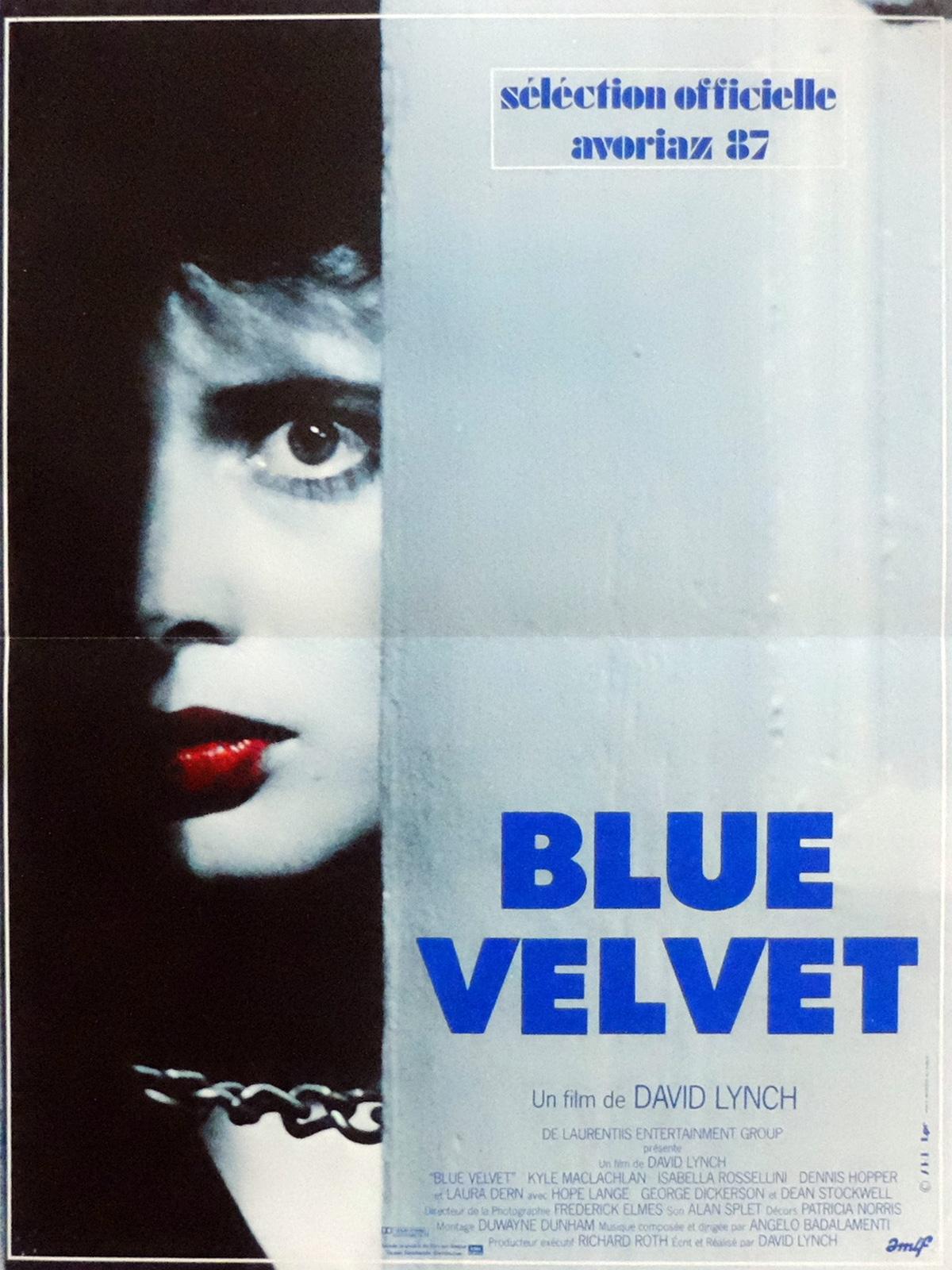 Blue Velvet affiche