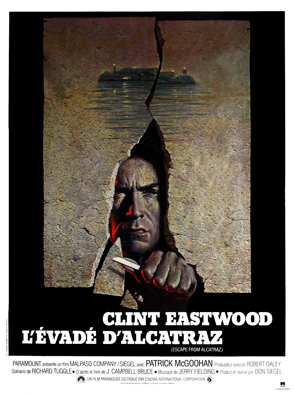 L'évadé d'Alcatraz (1979) de Don Siegel