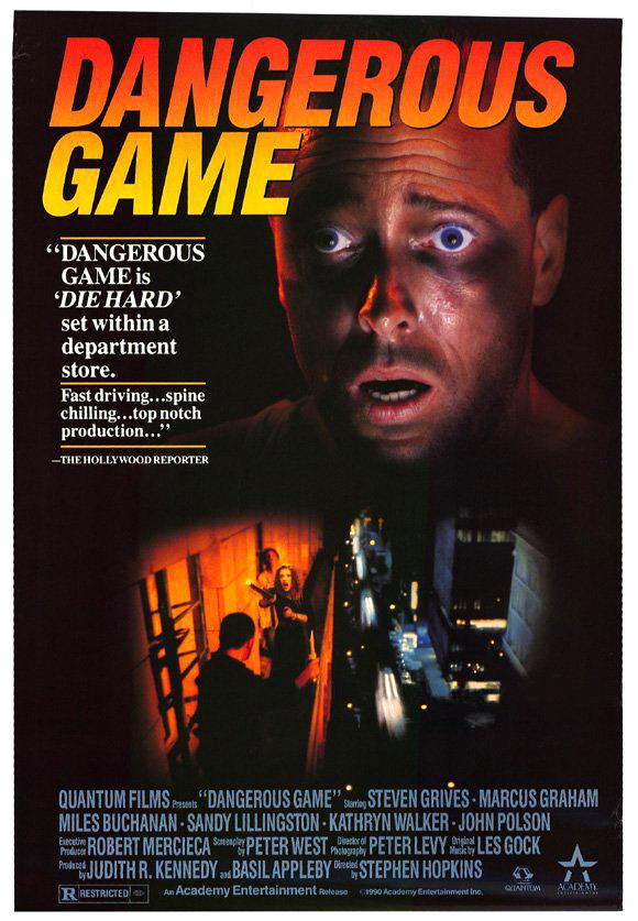 Dangerous game (1987) de Stephen Hopkins