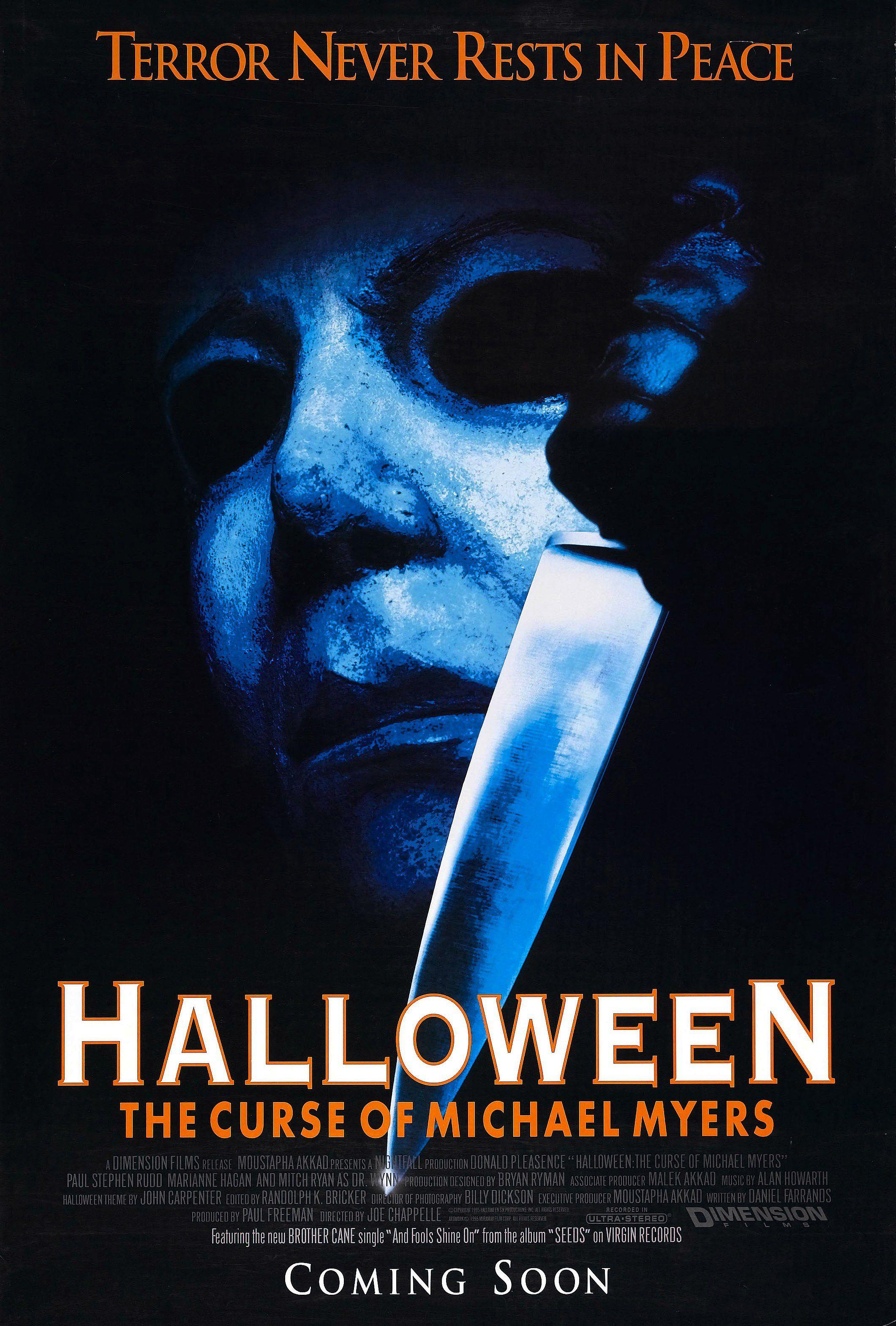 Halloween 6 : La malédiction de Michael Myers (1995) de Joe Chapelle