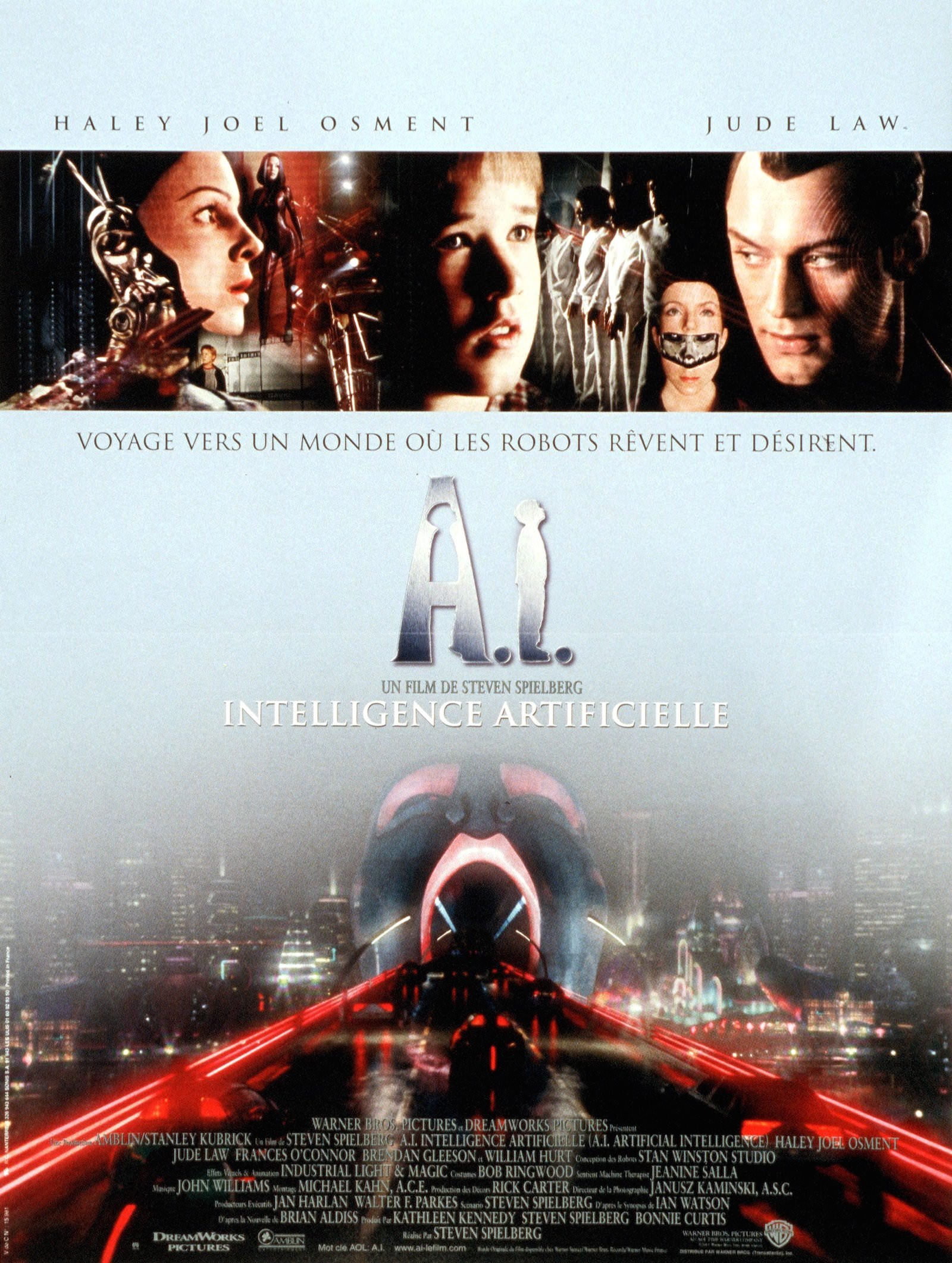 A.I. intelligence artificielle (2001) de Steven Spielberg