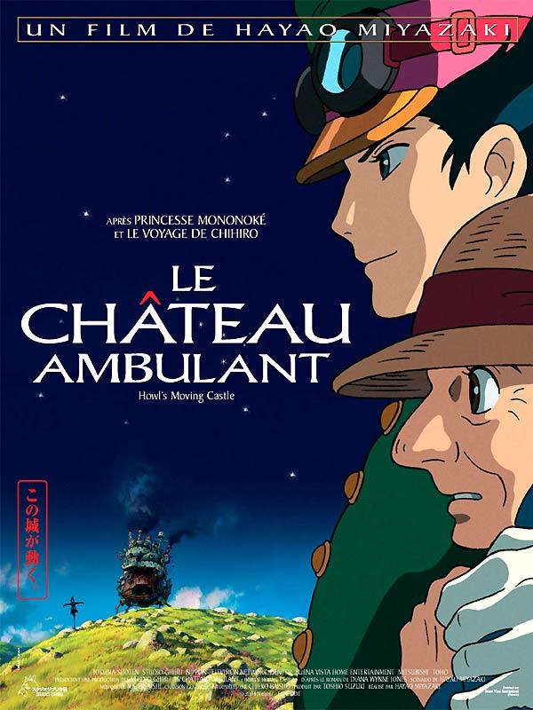 LE CHÂTEAU AMBULANT d'Hayao Miyazaki
