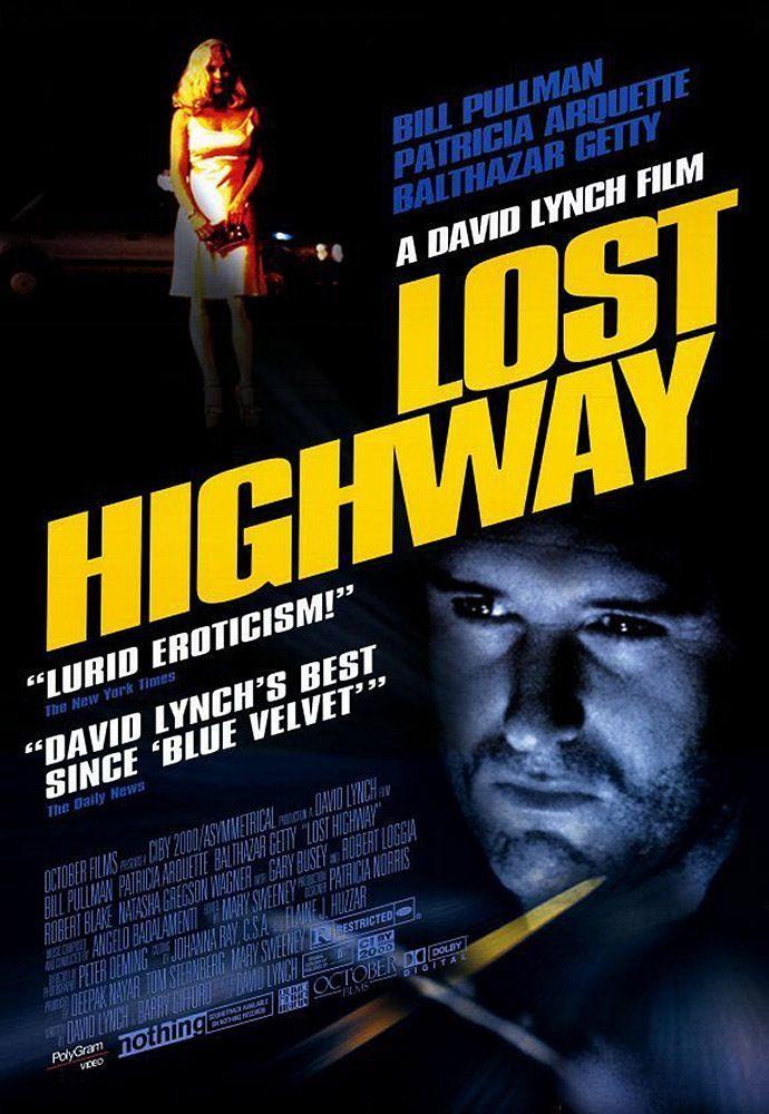 affiche de Lost Highway