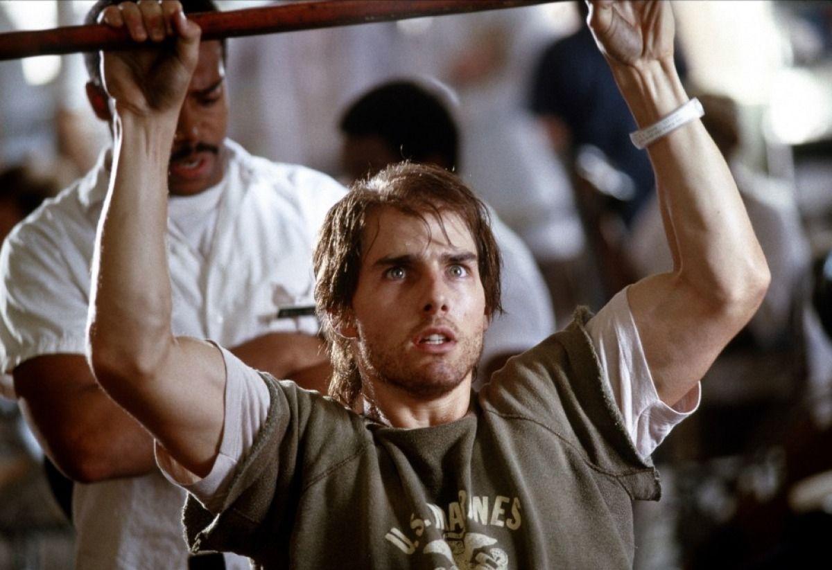 tom cruise dans Né un 4 juillet (1989) d'Oliver Stone