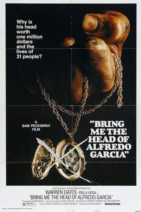 Apportez-moi la tête d'Alfredo Garcia affiche