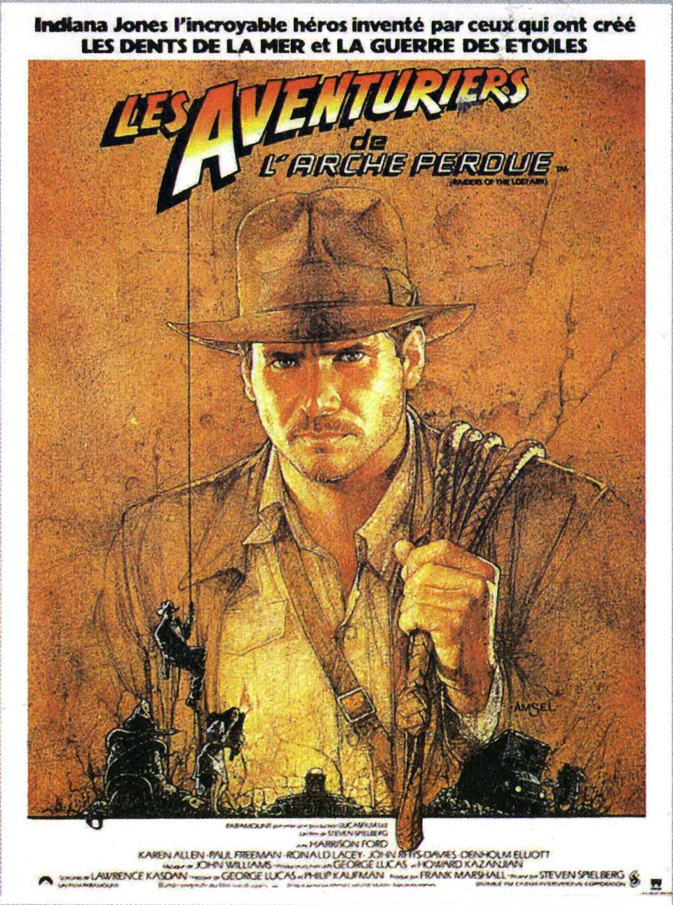 Les Aventuriers de l'Arche perdue (1981) de Steven Spielberg