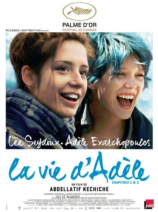 La Vie d'Adèle (2013) affiche