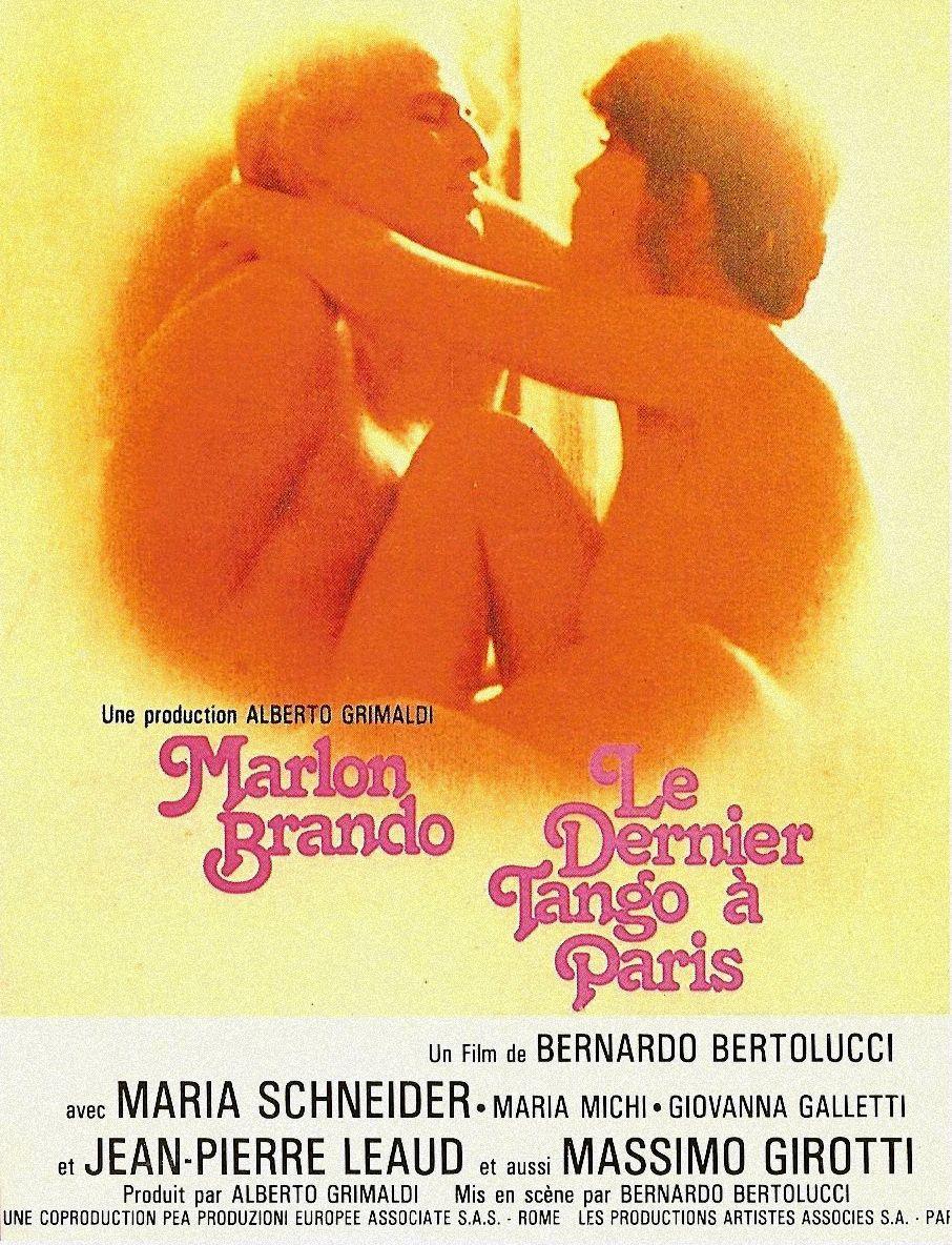 le dernier tango à paris affiche
