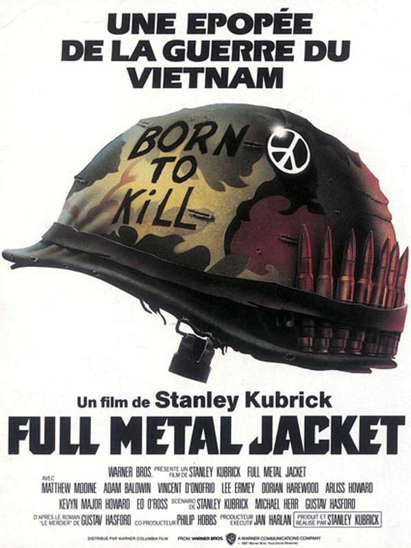 Full Metal Jacket (1987) de Stanley Kubrick