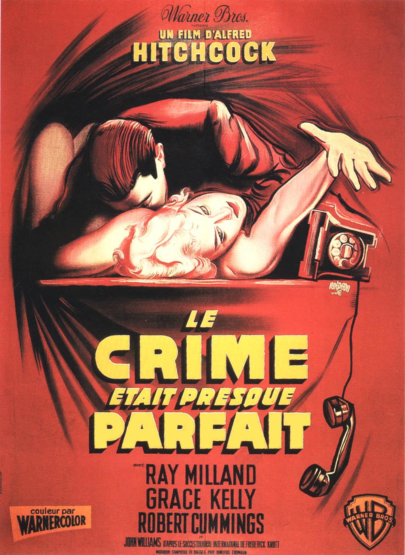 Le Crime était presque parfait (1954) d'Alfred Hitchcock