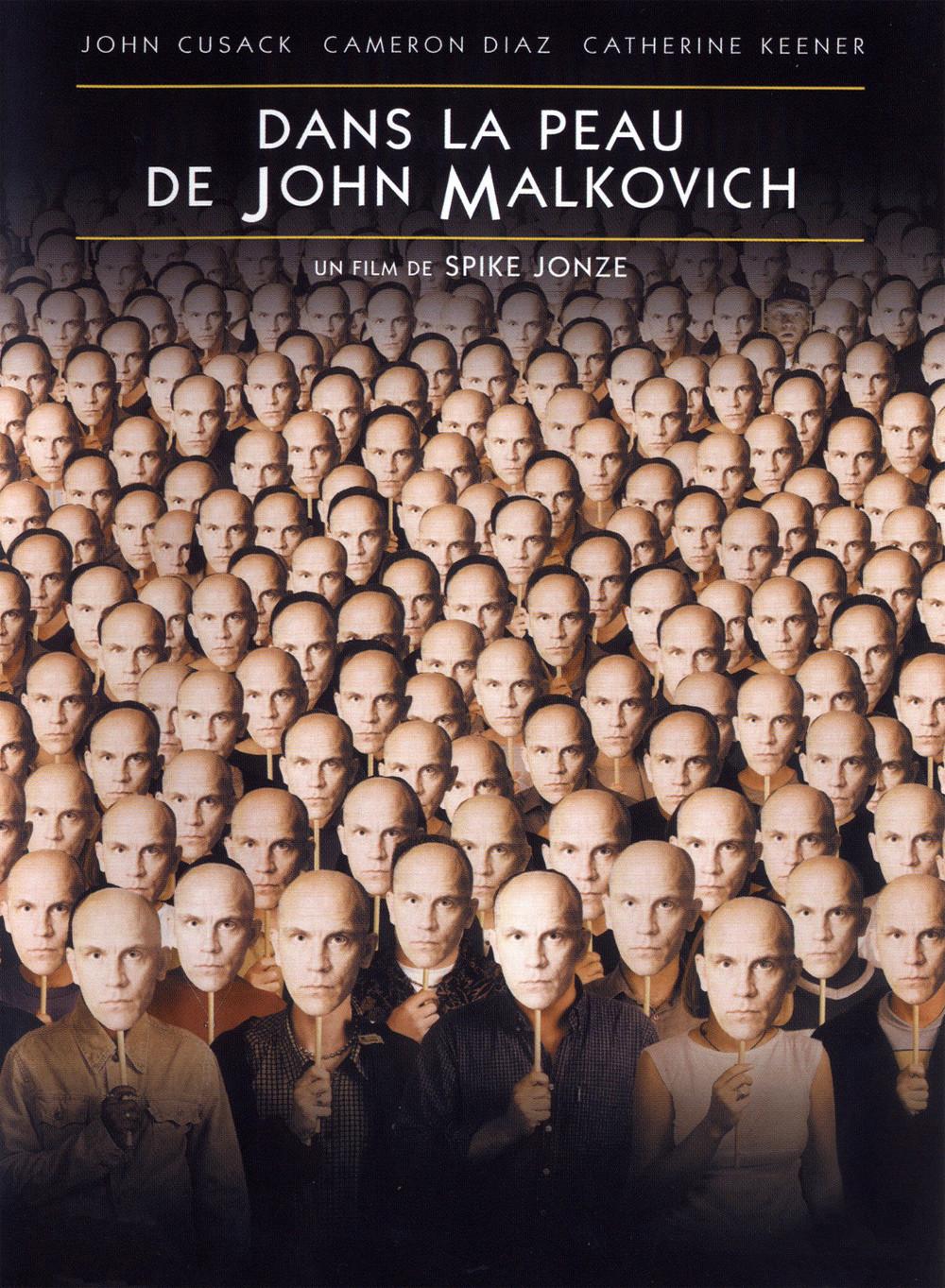 Dans la peau de John Malkovich de Spike Jonze