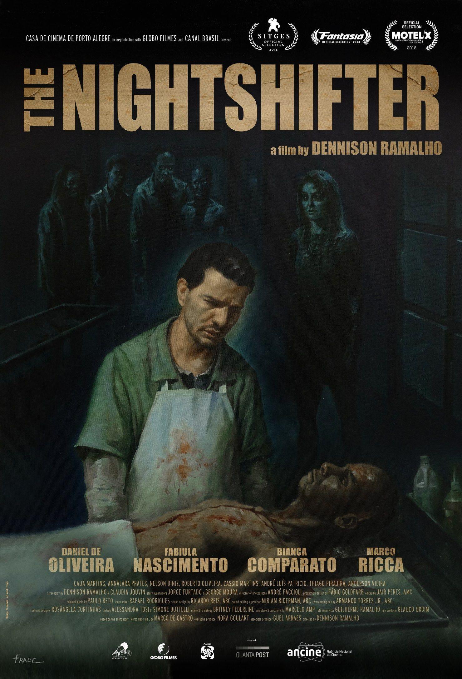 The Night Shifter de Dennison Ramahlo