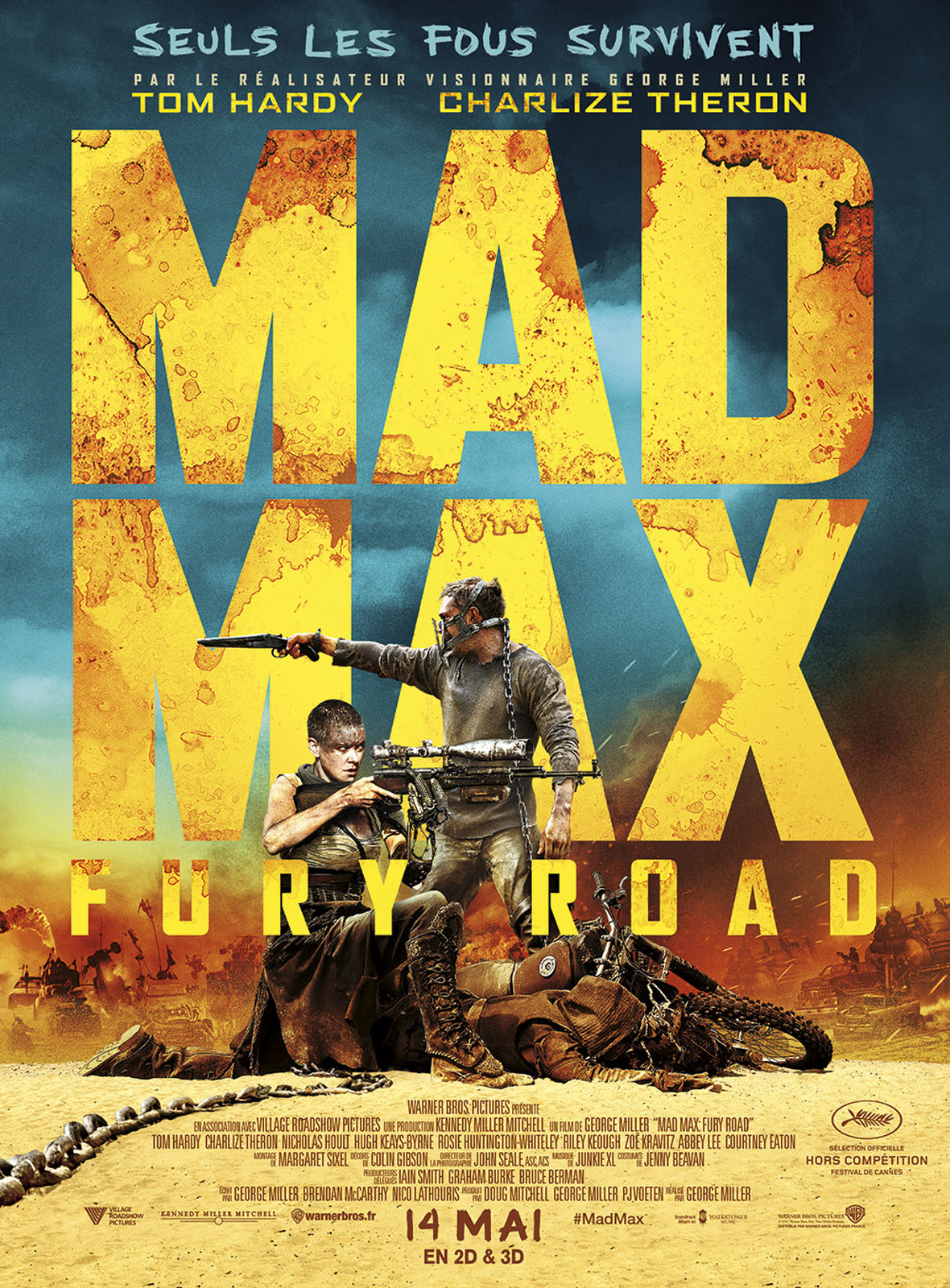 Mad max Fury Road de George Miller.
