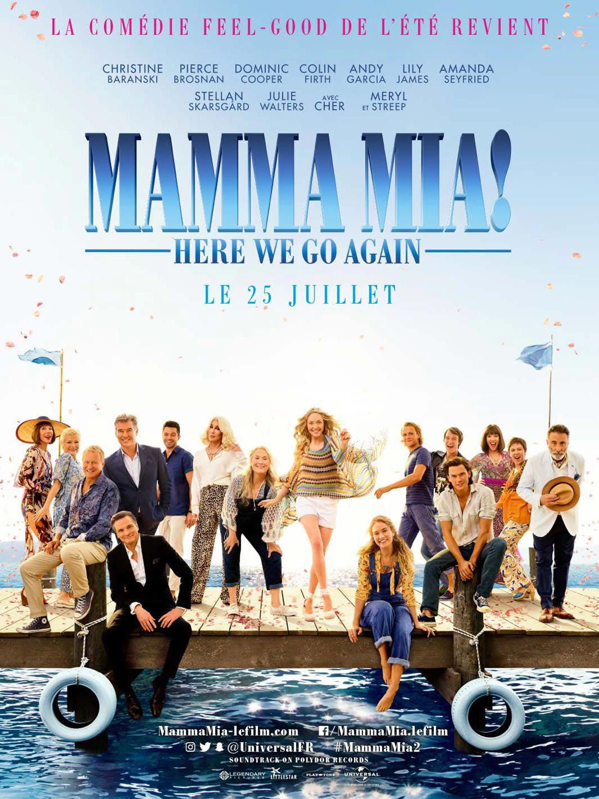 mamma mia here we go again affiche