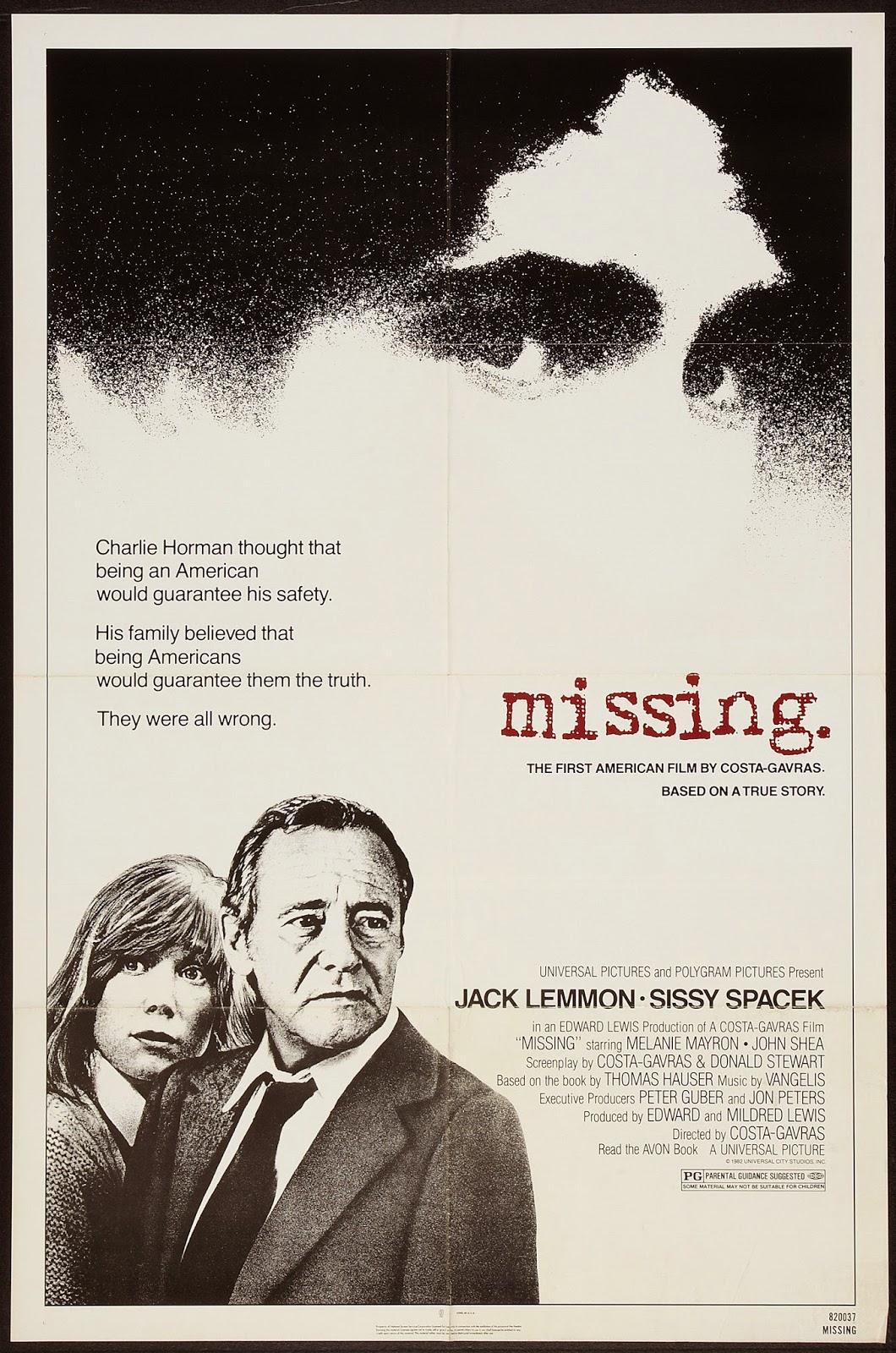 Missing de Costa Gavras