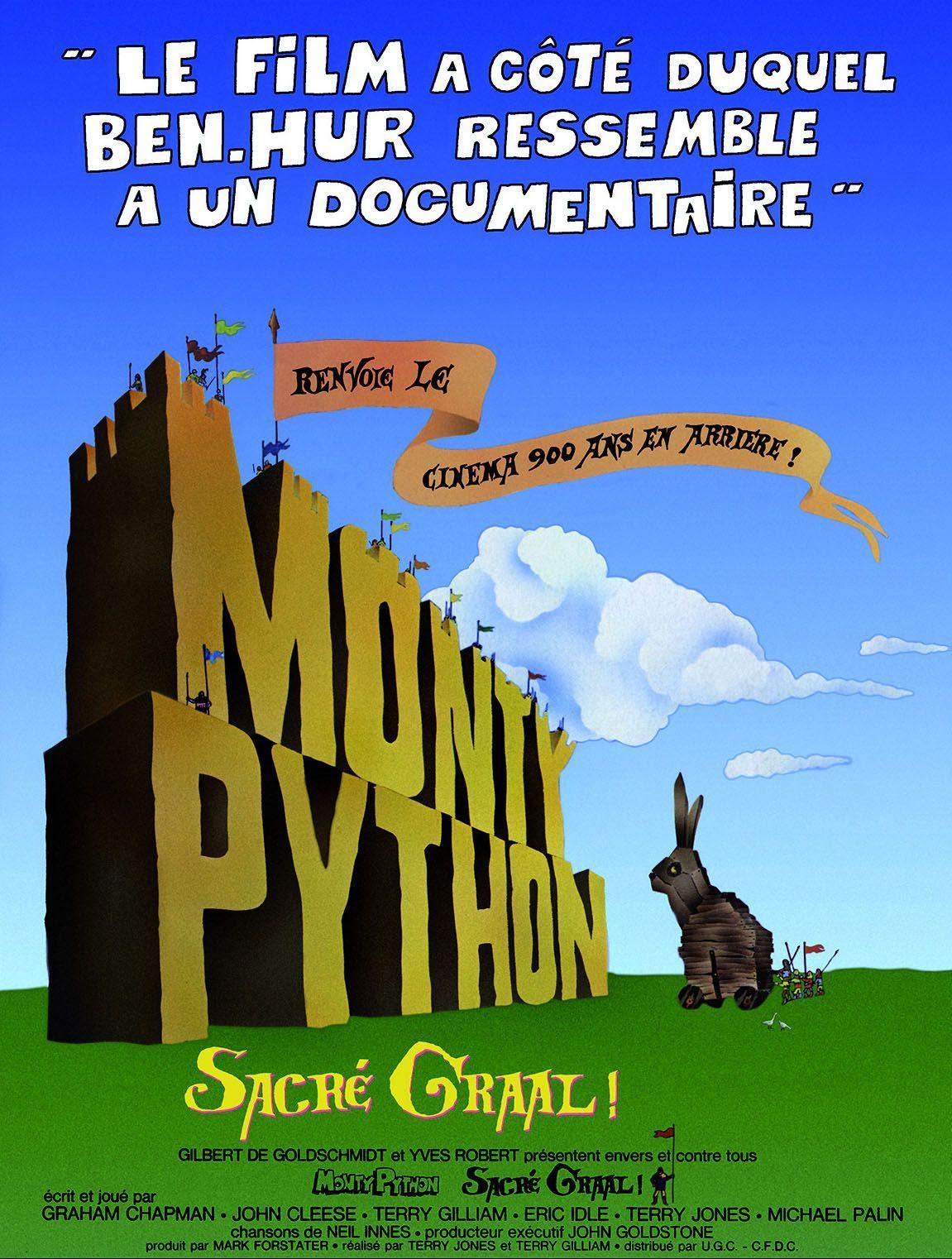 Monty Python sacré Graal de Terry Jones et Terry Gilliam