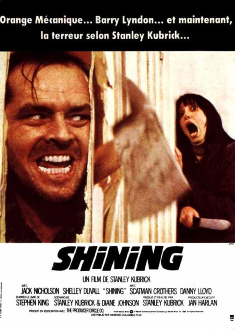 affiche de Shining