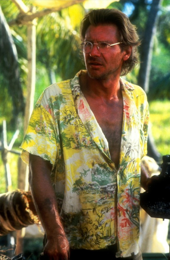 Harrison Ford dans Mosquito coast (1986)