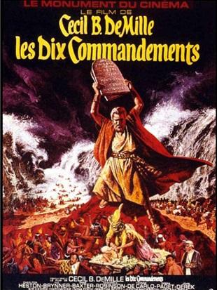Les 10 commandements (1956) de Cecil B. DeMille