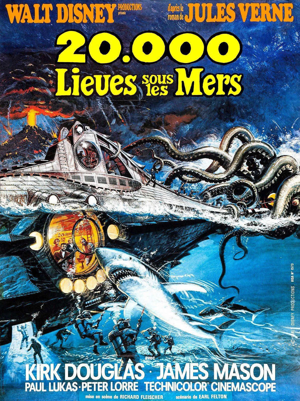 20 000 lieues sous les mers (1954) de Richard Fleischer