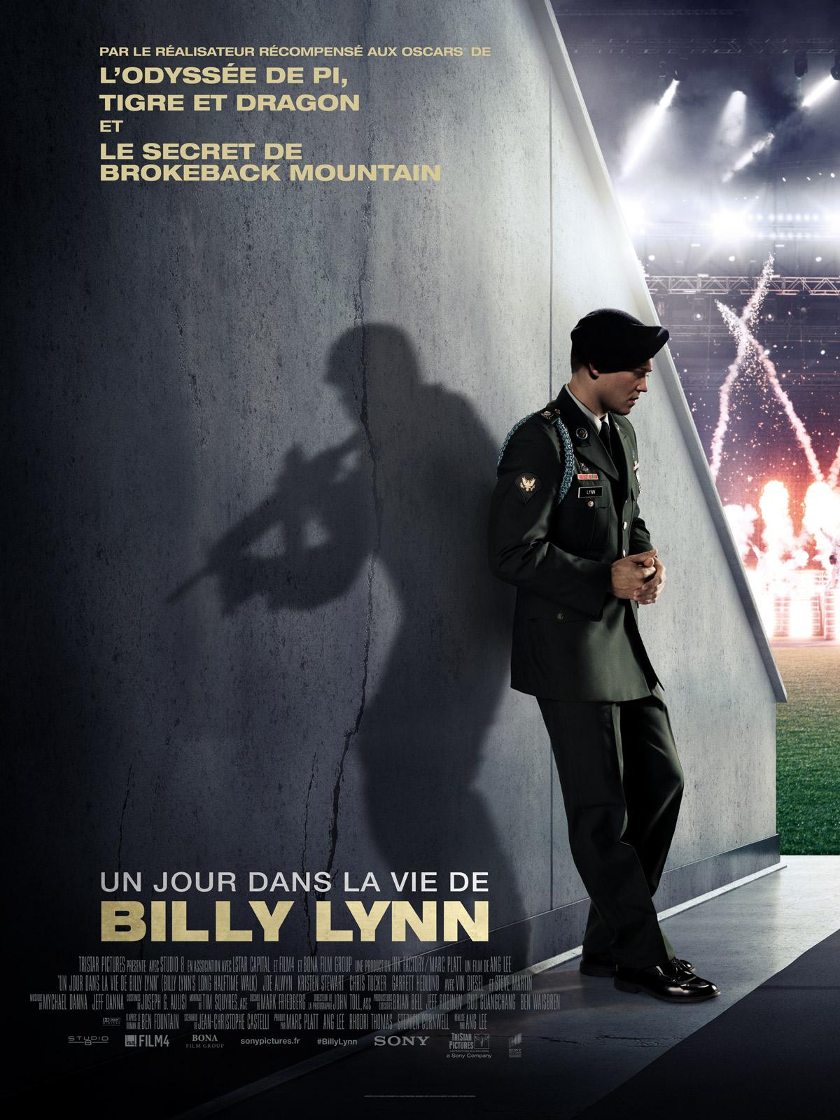 Un jour dans la vie de Billy Lynn d'Ang Lee
