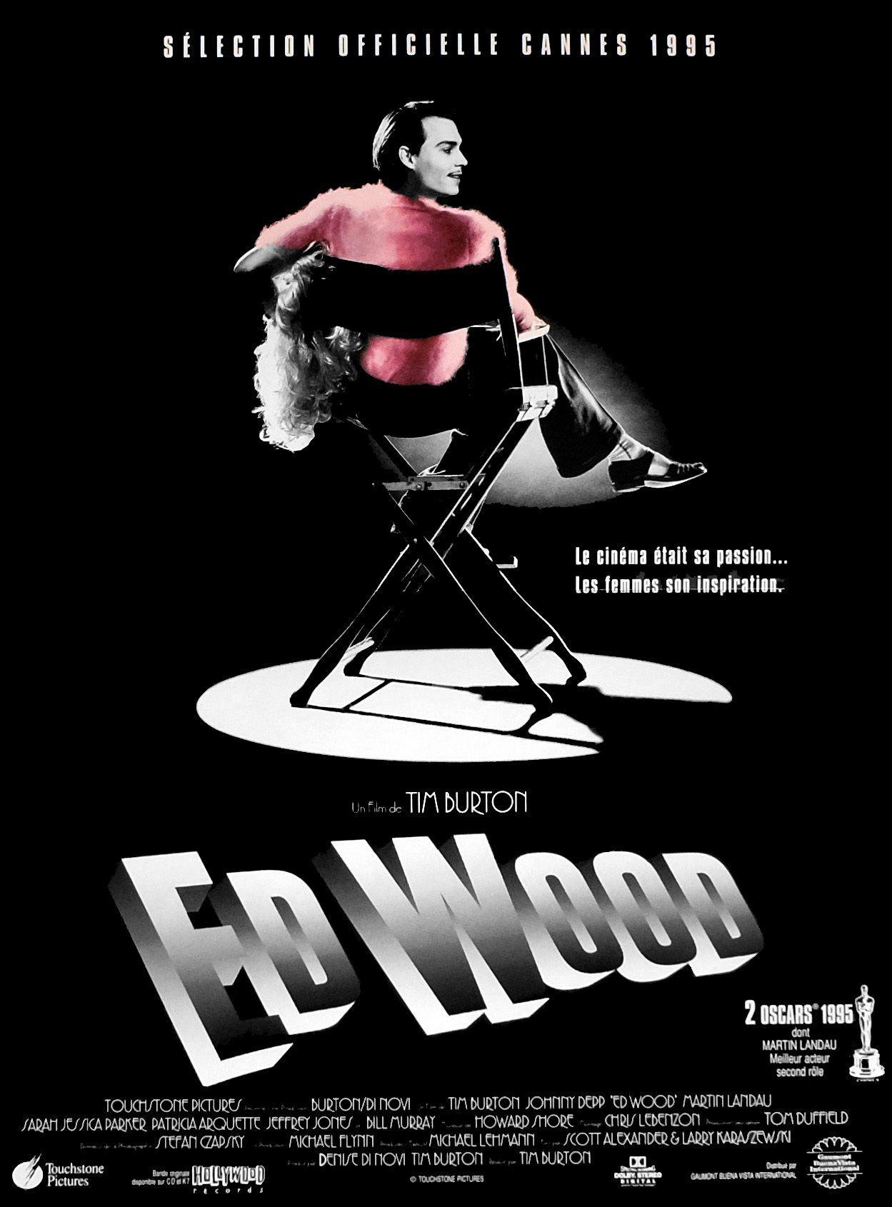 AFFICHE ED WOOD