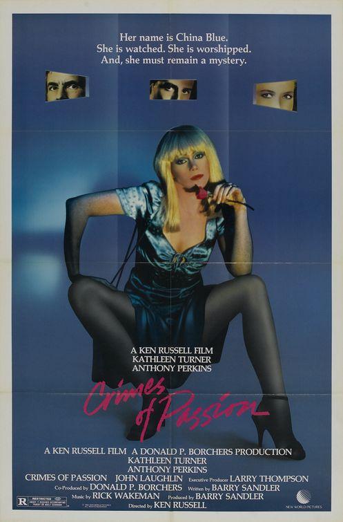 Les jours et les nuits de China Blue (1984) de Ken Russell