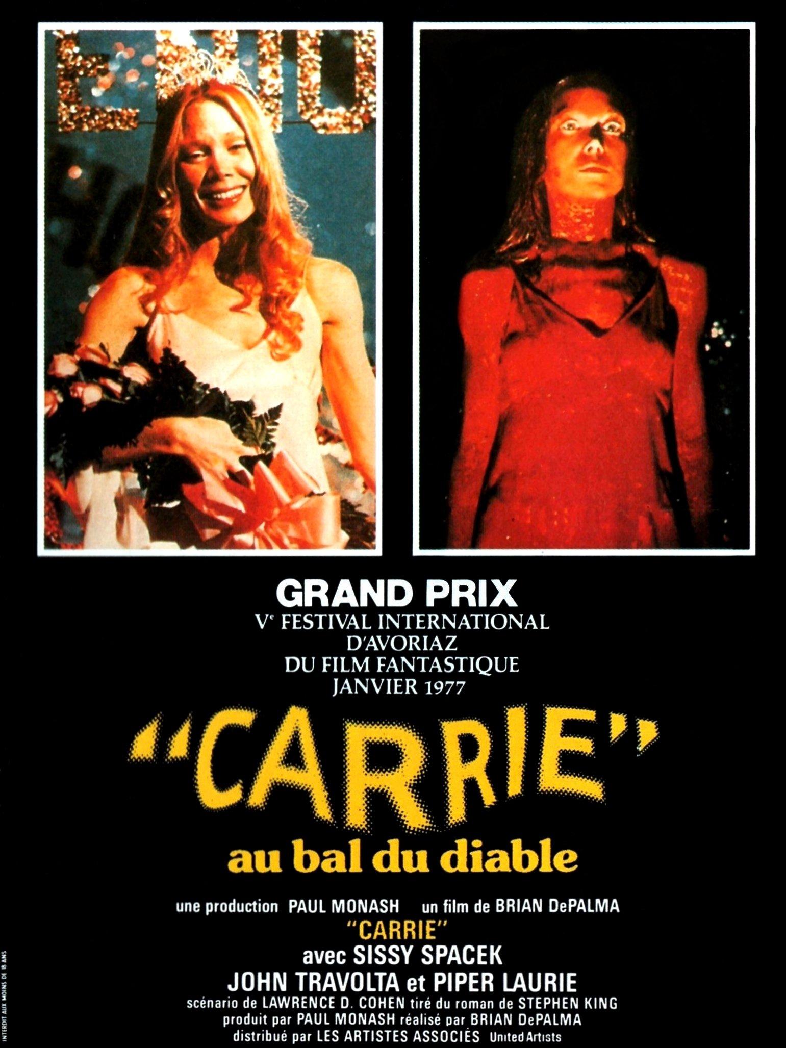 Carrie au bal du diable (1976) de Brian De Palma