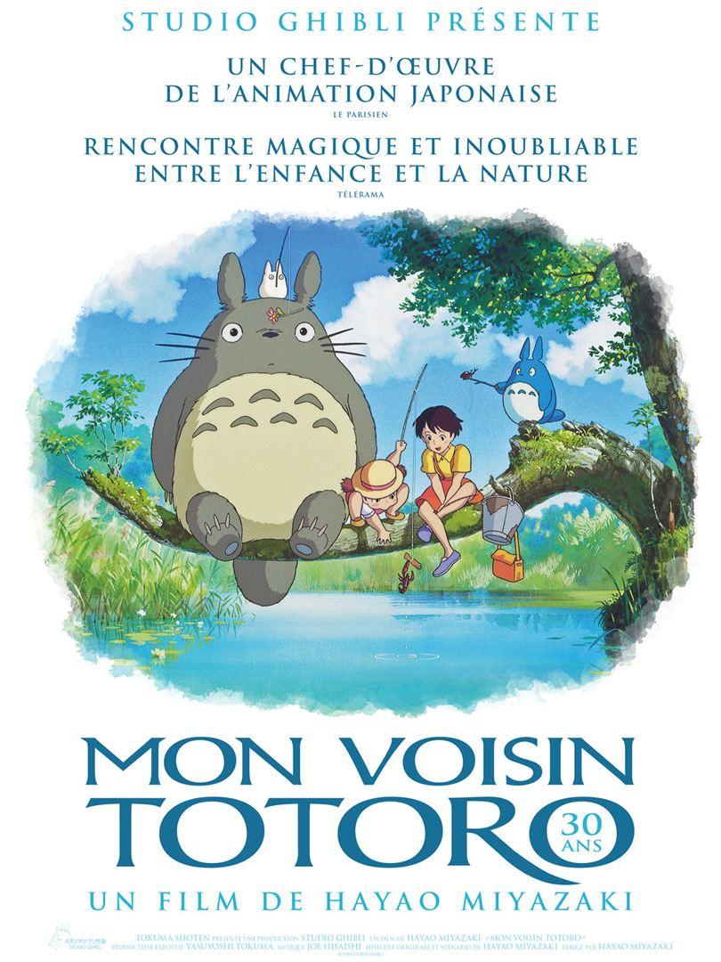 Mon voisin Totoro (1999) de Hayao Miyazaki