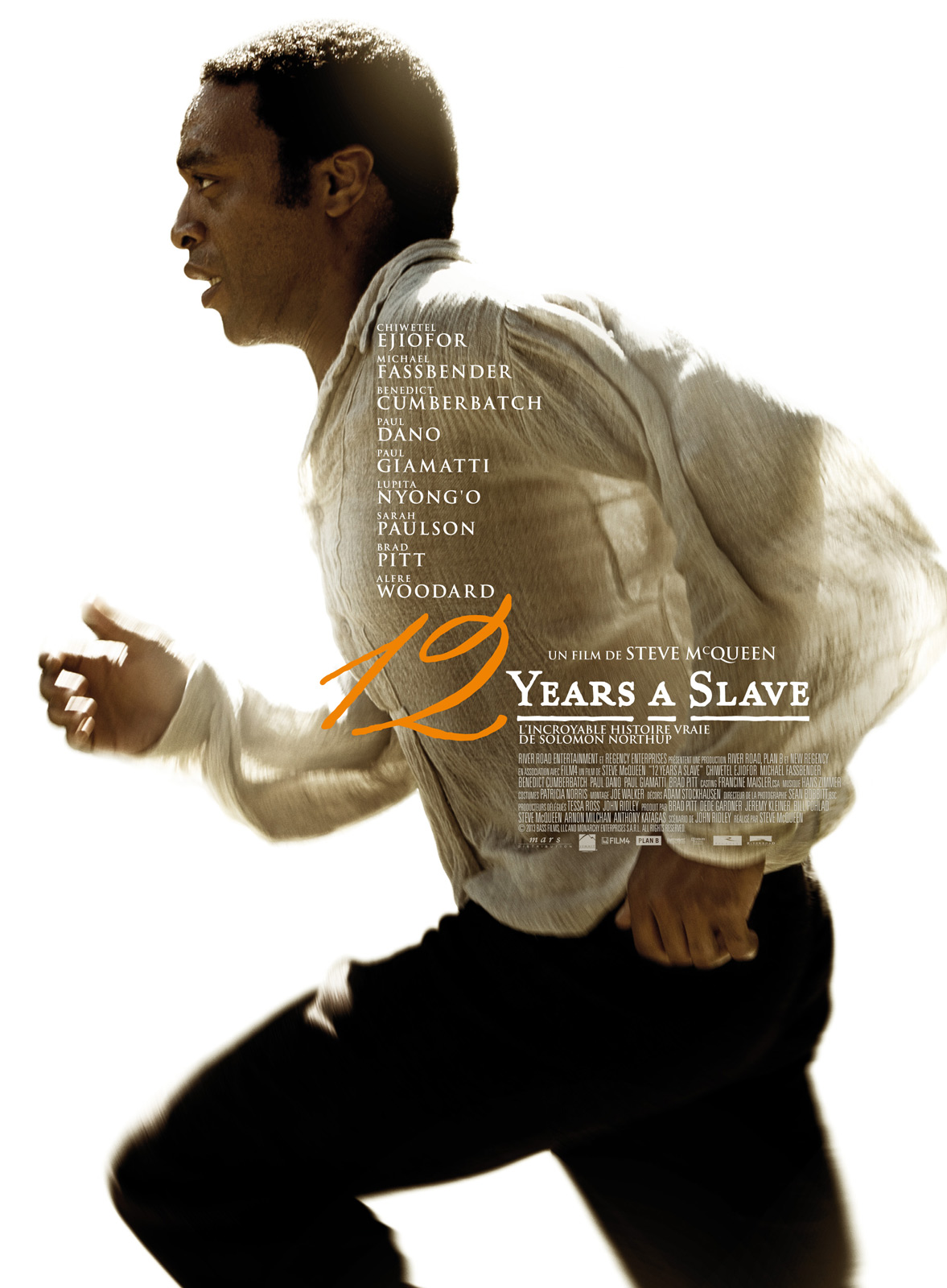12 years a slave de Steve McQueen