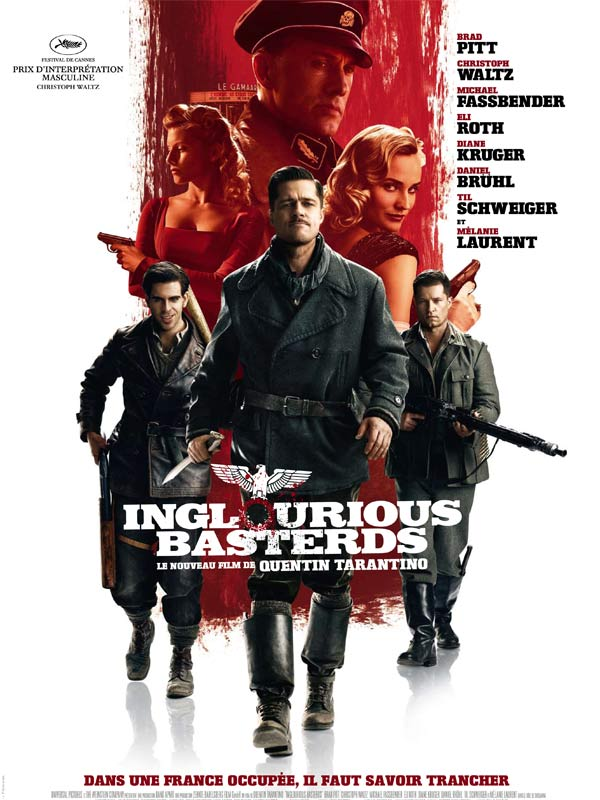affiche inglorious basterds