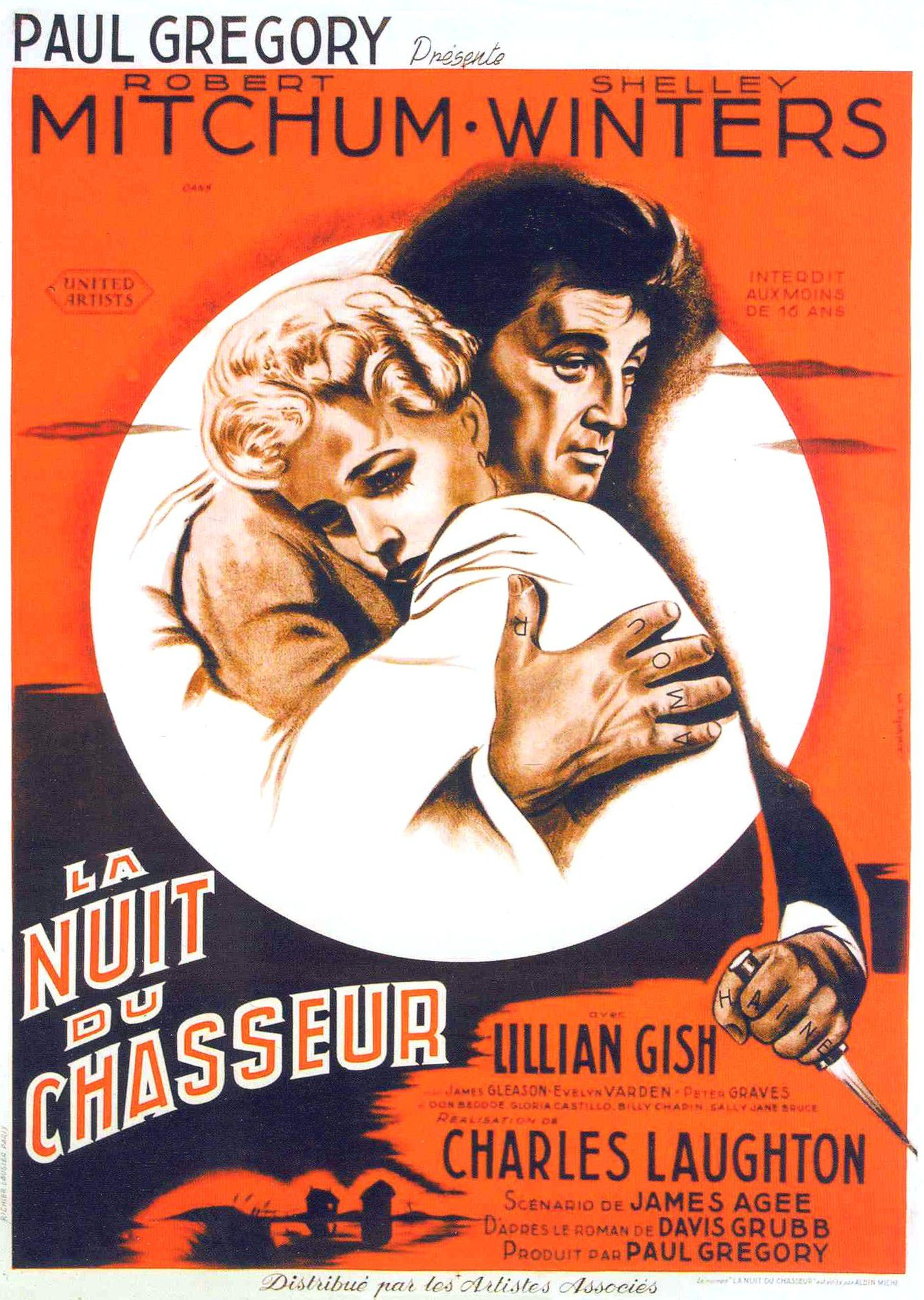 La nuit du chasseur (1956) de Charles Laughton