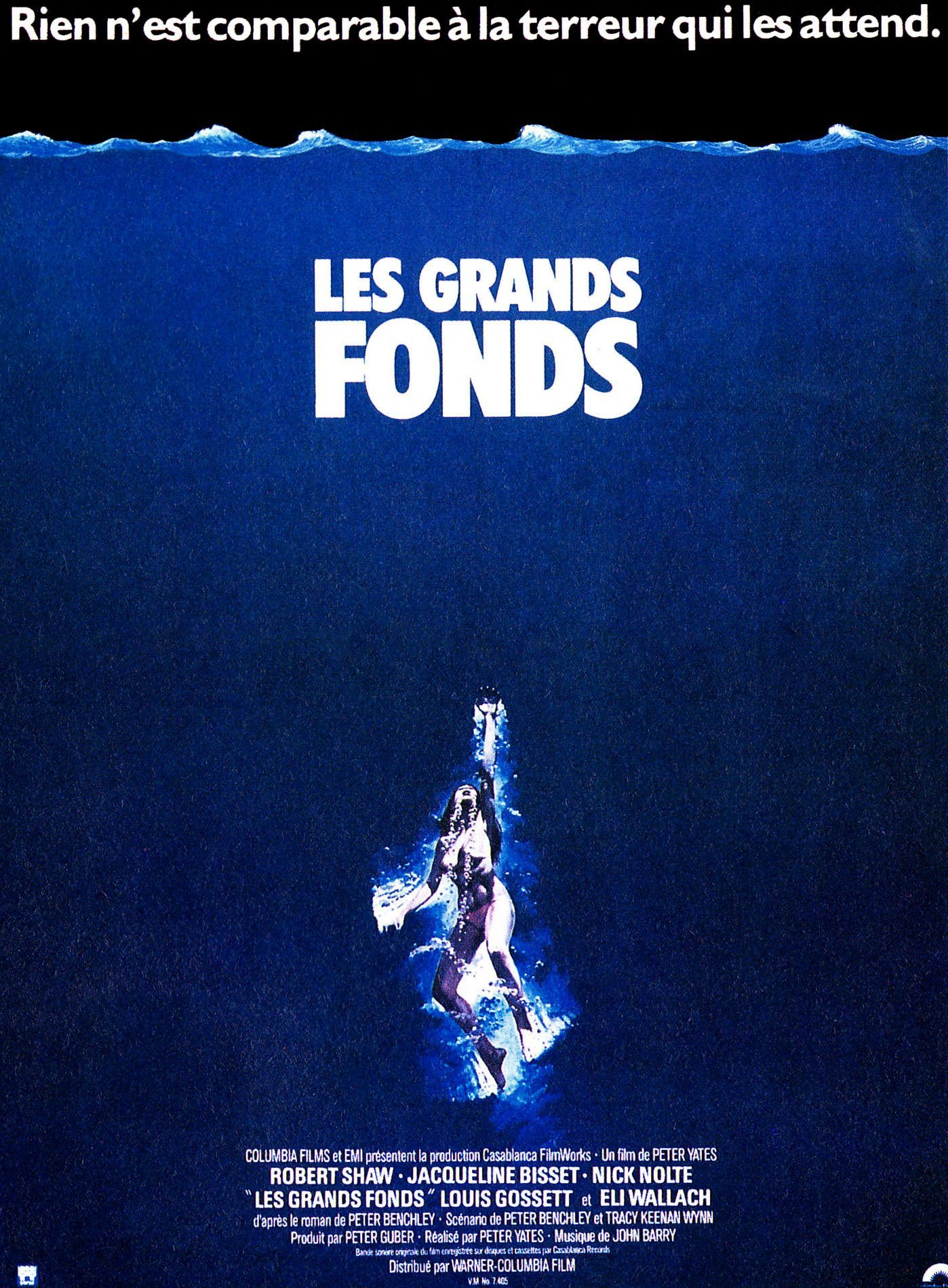 Les Grand fonds (1977) de Peter Yates