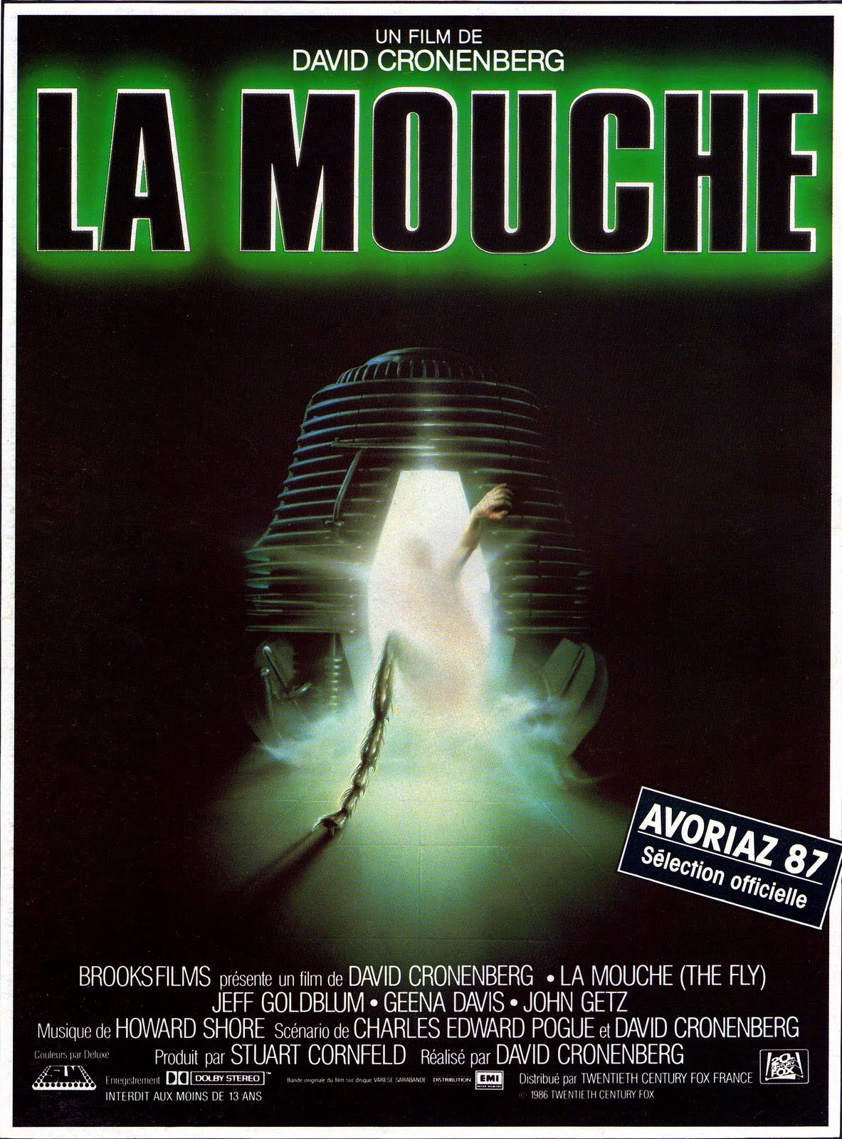 La Mouche (1986) de David Cronenberg