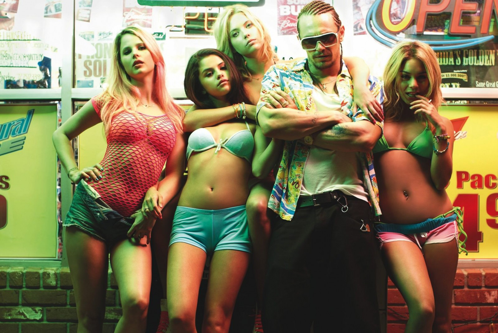 James Franco dans Spring breakers (2012)