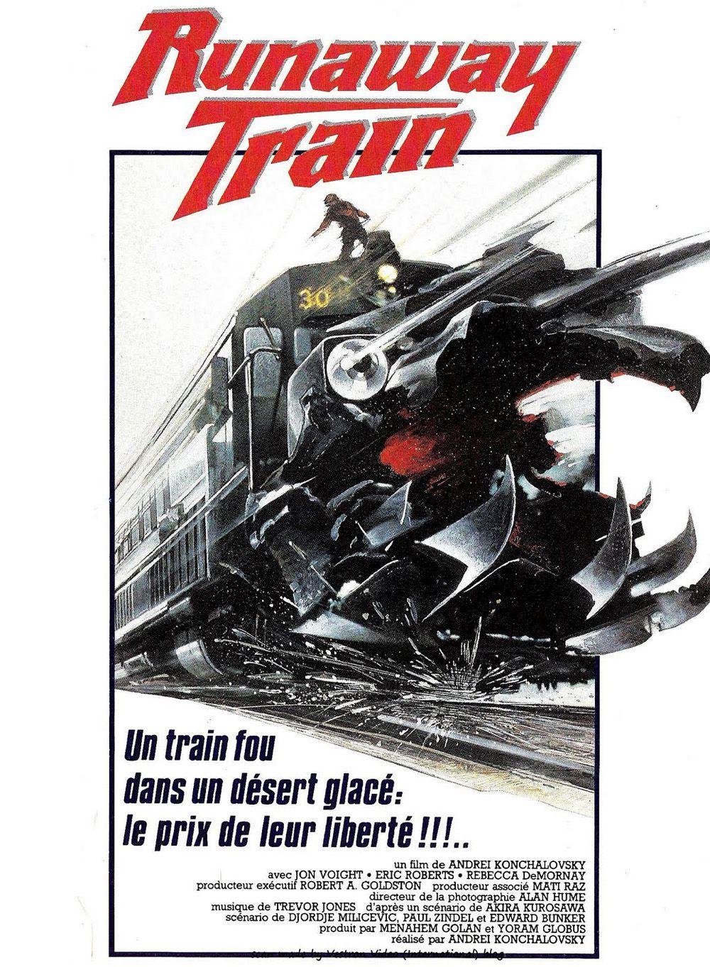 affiche de Runaway train (1985) d'Andreï Kontchalovski
