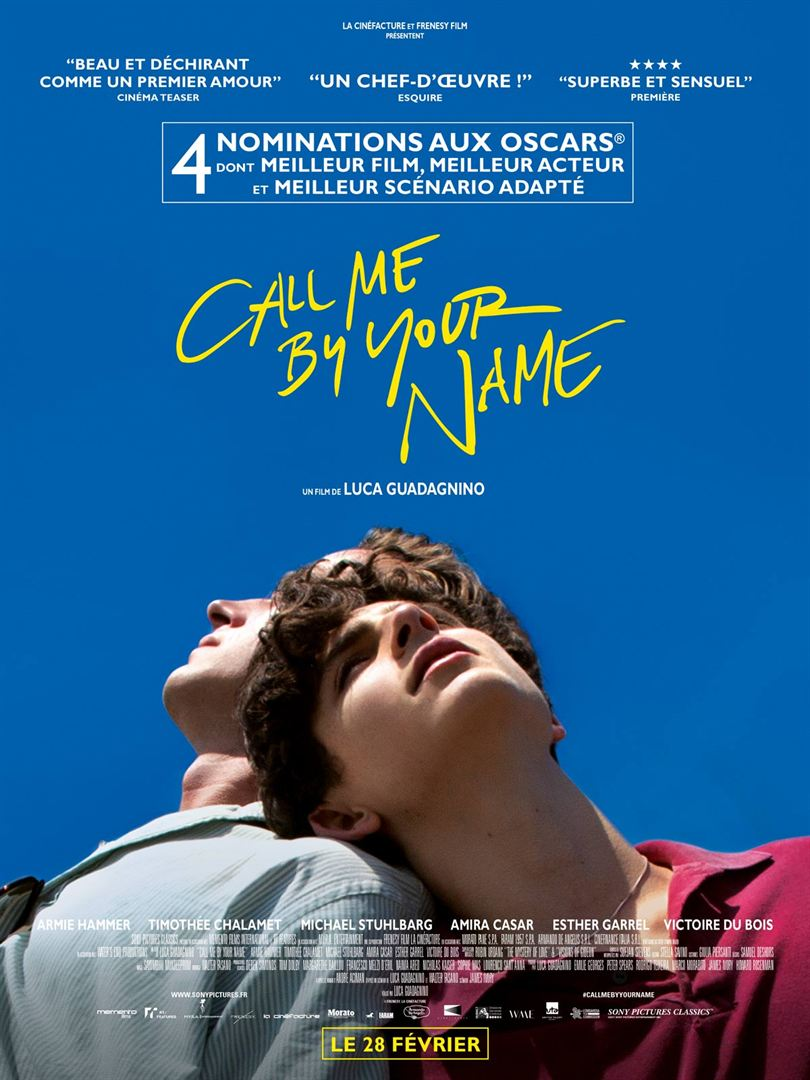 Call me by your name (2017) de Luca Guadagnino